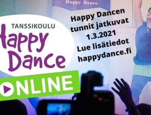 Happy Dancen maaliskuu 2021